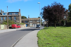Start of my to Sunday Morning stroll to Yeadon High Street.