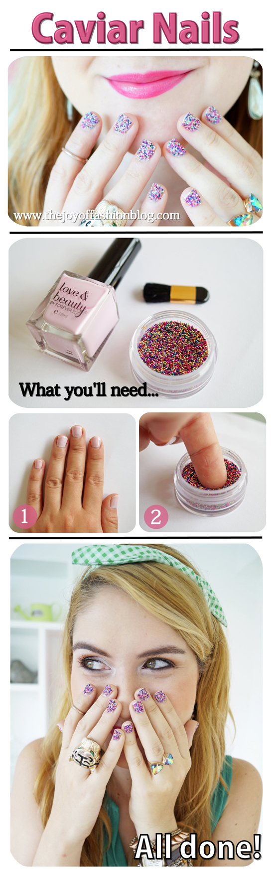 Caviar Nails Tutorial