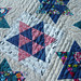 Dancing Stars Quilting Detail by Marci Girl Designs