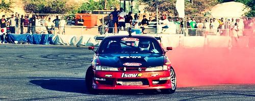 Nissan Sylvia Red Smoke