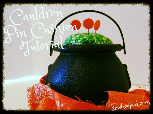 Pin Cushion Cauldron
