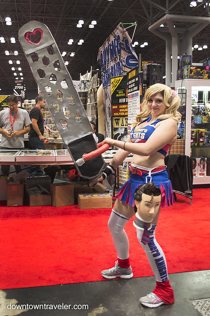 NY Comic Con Womens Costume Juliet Starling Lollipop Chainsaw