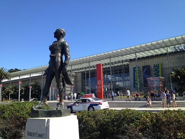Robert Emmet statue