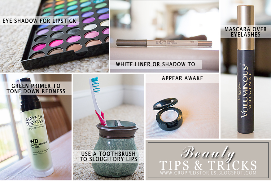 Beauty Tips and Tricks via Cropped Stories