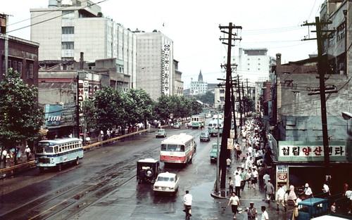 Seoul 서울 1968-08-07 남대문로 南大門路 – 68D08-0722