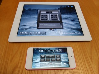 Battle of the Bulge - iPad vs iPod touch
