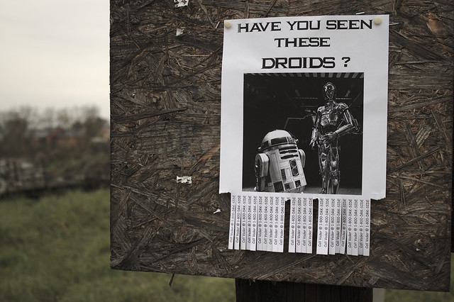 Flickr Friday #39: Have you seen these droids? (May the Force be with you)
