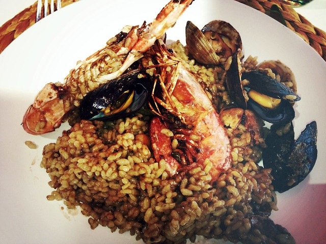 paella restaurante la viblia barcelona