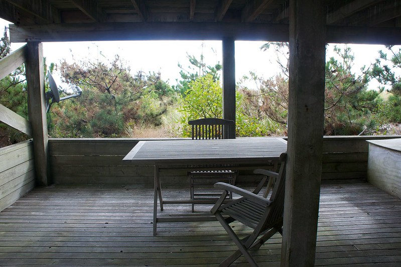 View of the Dunes from the Bottom Deck