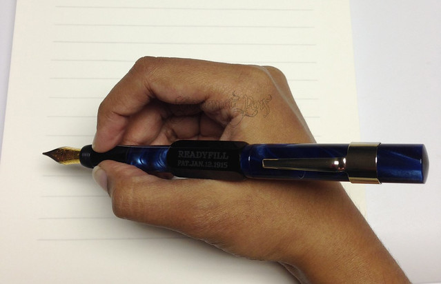 Gate City Pen - READYFILL Claire de Lune Fountain Pen - Broad @RichardsPens Posted