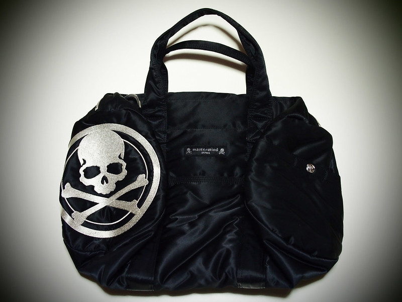 PORTER × mastermind JAPAN | Drum Boston Bag