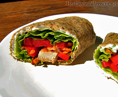 Gluten-Free, Low Carb Wraps