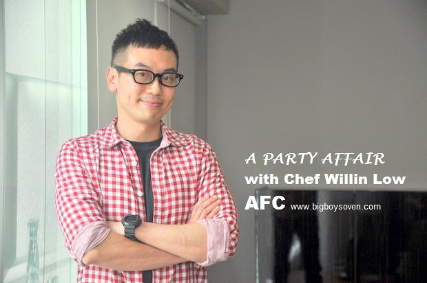 A PARTY AFFAIR with Chef Willin Low AFC 1