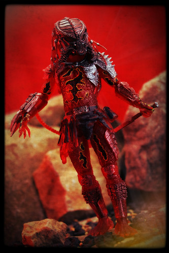 NECA Predator - Lava Planet Predator