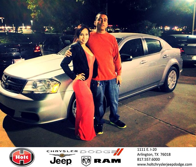 Chrysler Dealership Arlington Tx: Thank You To Frank Ramirez On Your New 2014 #Dodge