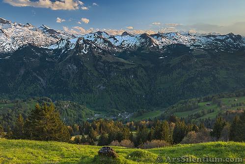 Mountain Range Of Muotatal