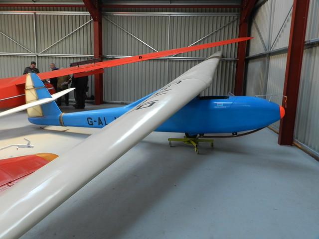 G-ALJR Abbott-Baynes Scud III glider