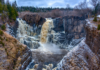 High Falls - Pigeon River
