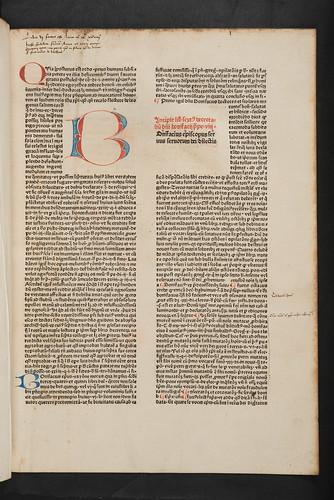 Penwork initial in Bonifacius VIII, Pont. Max.: Liber sextus Decretalium