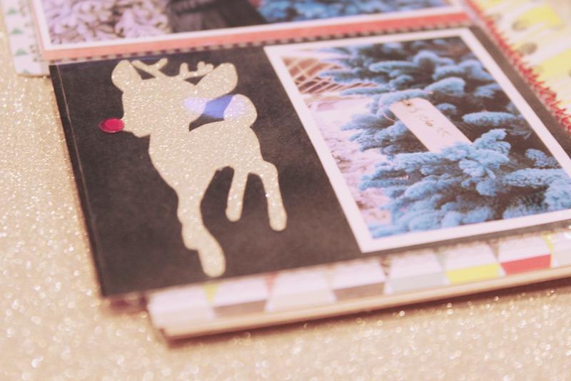 {december 1st} minibook | reindeer