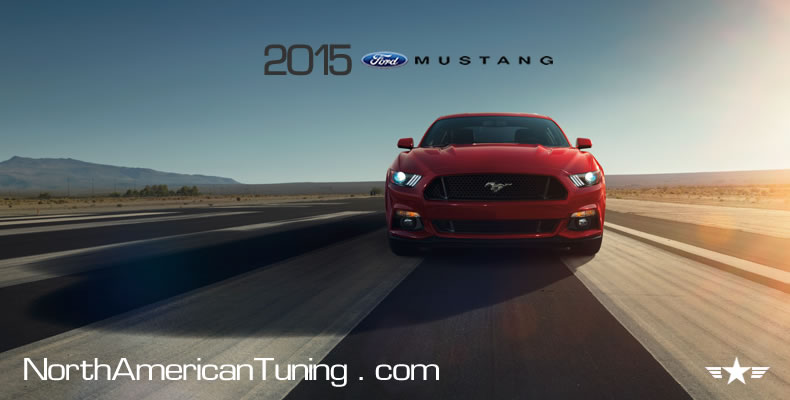 2015 Ford Mustang Unveiling Red