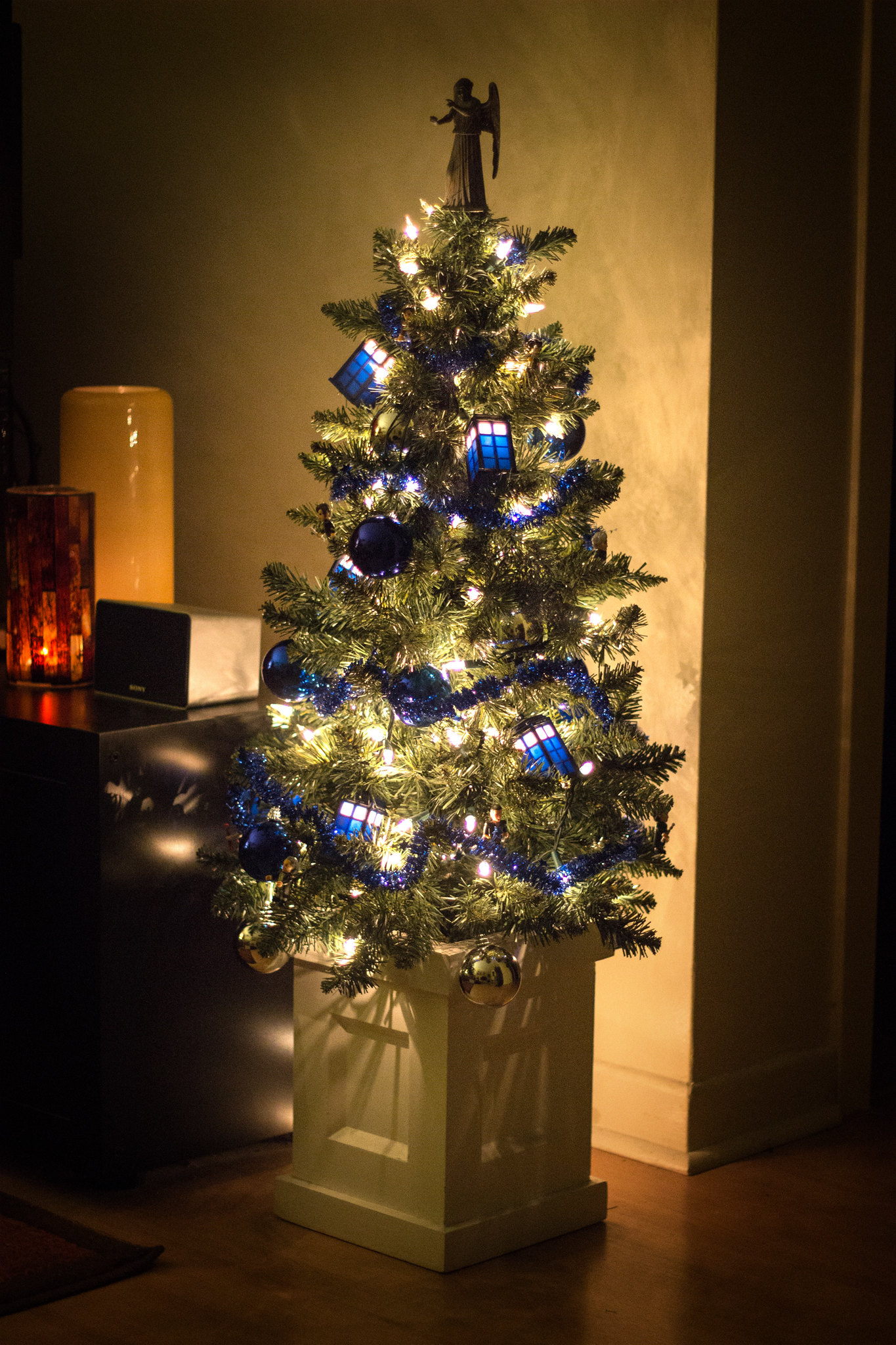 Doctor Who Themed Christmas Tree
