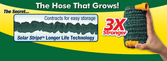 The hose that grows!