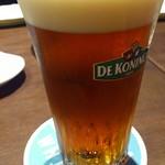 ベルギービール大好き!! デ・コーニンク・ブロンド De Koninck Blond