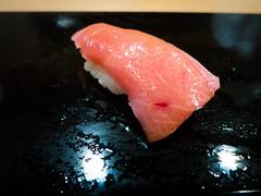 Chu-toro (Semi-Fatty Tuna, piece 2) @ Sukiyabashi Jiro
