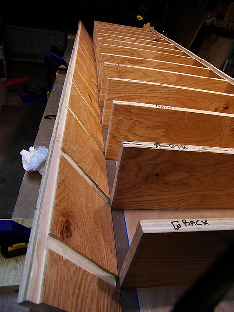 The Glue-Up: Lining Up the 2nd Upright
