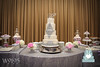 W9195-white-silver-jewel-wedding-cake-toronto