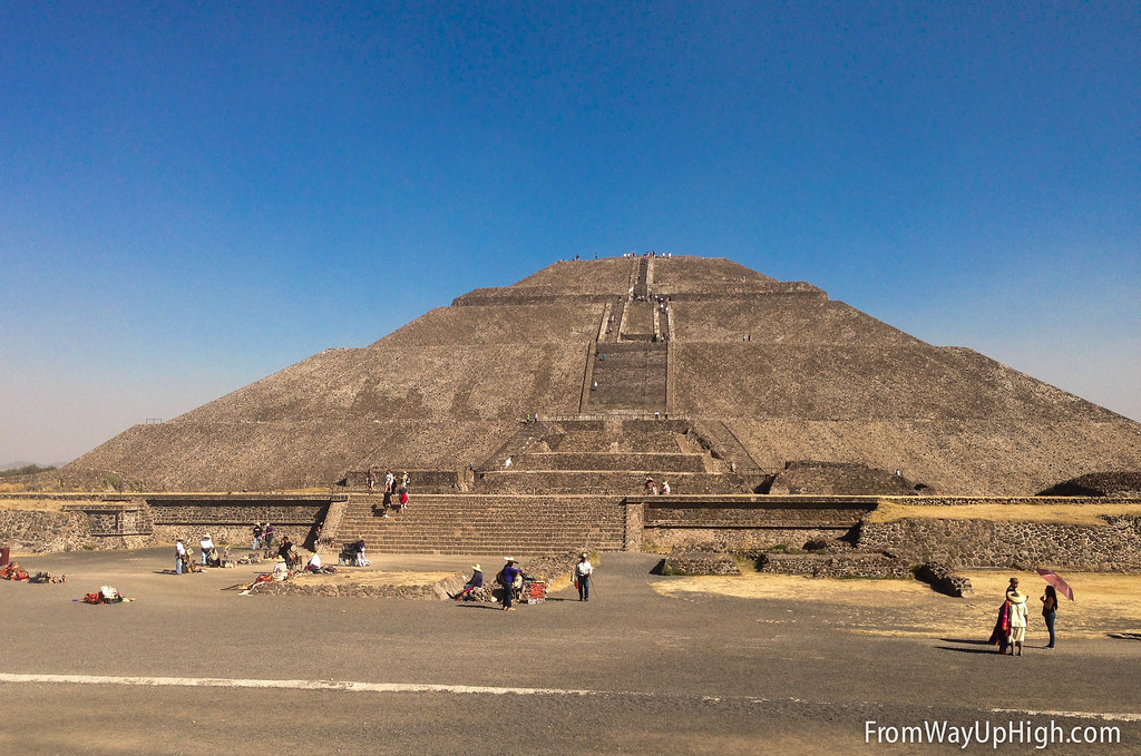 The Pyramid of the Sun at Mexico's Teotihuacan