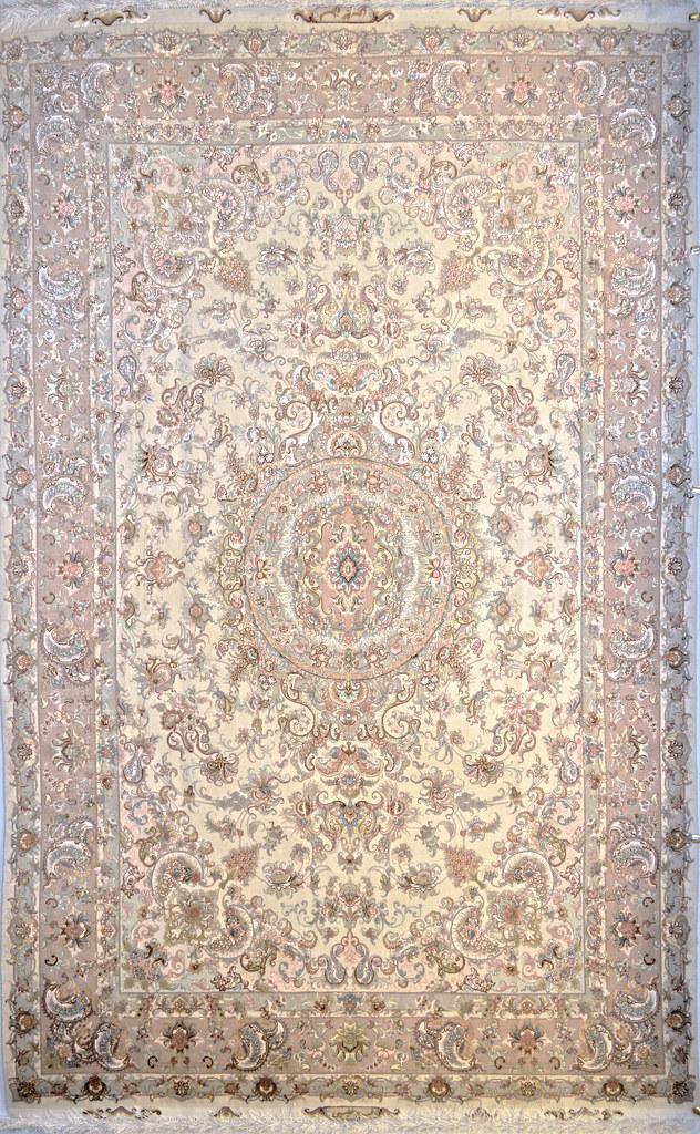 Persian tabriz Area Rug 7x10 Khatibi Design