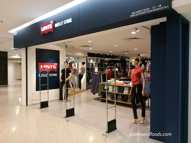 cheras leisure mall levis outlet
