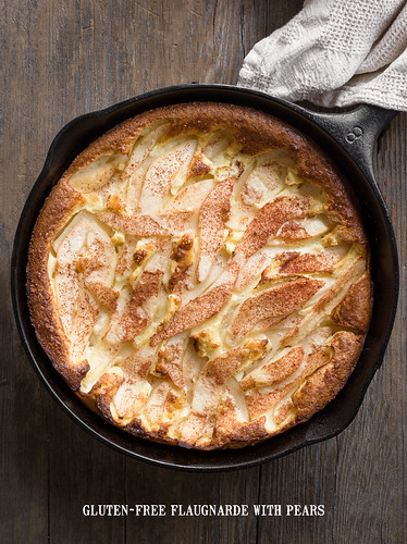 Gluten-Free Flaugnarde with Pears