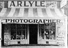 A.R. Lyle, photographer 1906