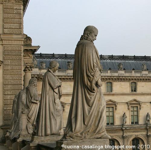 Louvre - Figuren