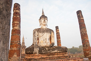 Attēls no  Sukhothai Historical Park pie  Ban Na. thailand asia southeastasia december buddha sukhothai oldsukhothai historicalpark 泰国 สุโขทัย watmahathat ราชอาณาจักรไทย ประเทศไทย 2013 canonefs1755mmf28isusm sukhothaihistoricalpark canon450d อุทยานประวัติศาสตร์สุโขทัย sukhothaimuangkao