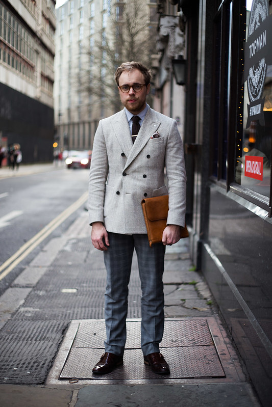 Street Style - Jamie, London Collections: Men