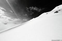 Snow crest | Ligne de crête neigeuse