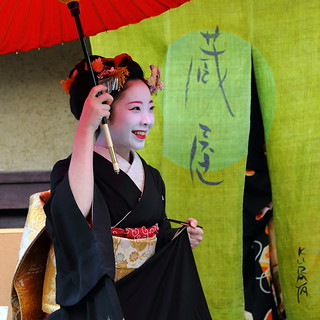 2014 新春京都紀行  上七軒 新年挨拶回り その2    New Year Days in Kyoto --- New Year Greetings in Kamishichiken