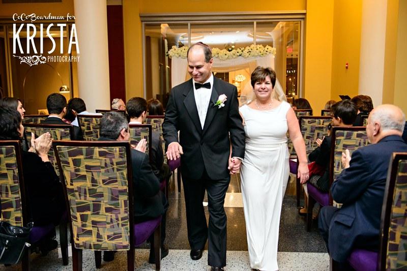 Intimate Boston wedding at Davio's Restaurant