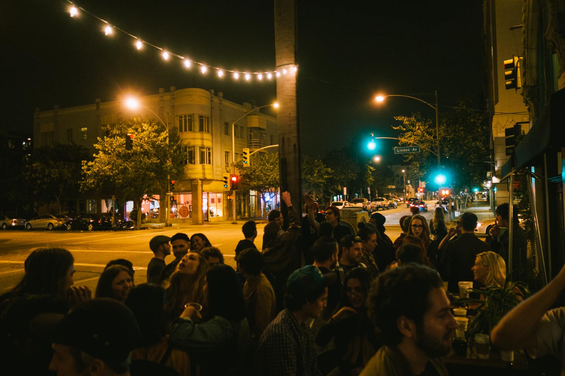 Crowded Corner