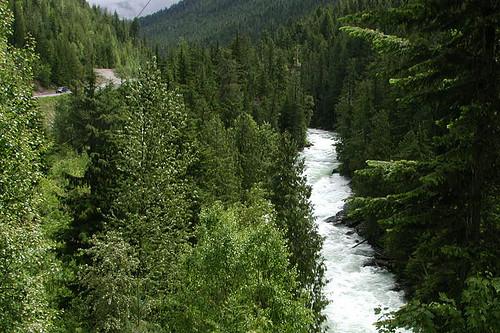 Slocan River, Nakusp, Upper Arrow Lake, West Kootenays, Kootenay Rockies, British Columbia, Canada