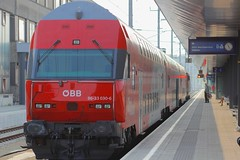 st polten hbf austrianpsycho tags train platform eisenbahn railway zug bahnhof hauptbahnhof. Black Bedroom Furniture Sets. Home Design Ideas