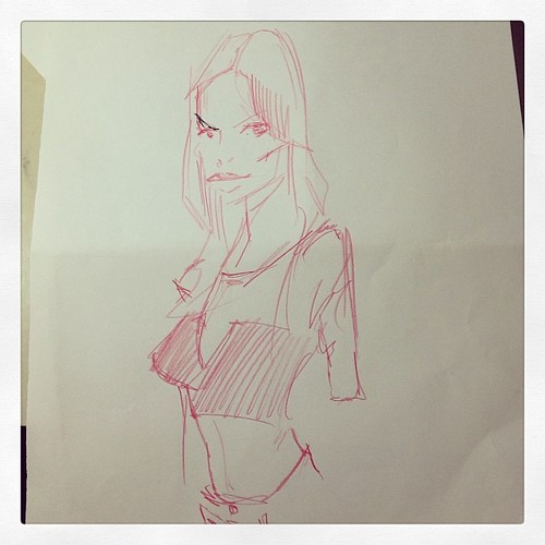 Sketching by josu maroto