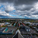 View from atop Hallgrimskirkja by cloudveilphotography.com