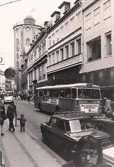 Købmagergade towards Rundetårn 1973