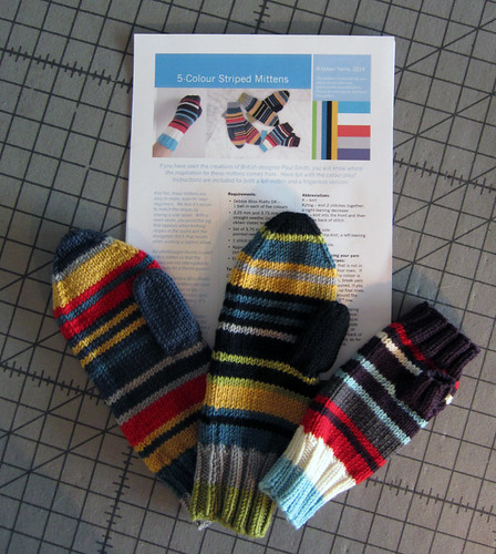 5-colourstripedmittens