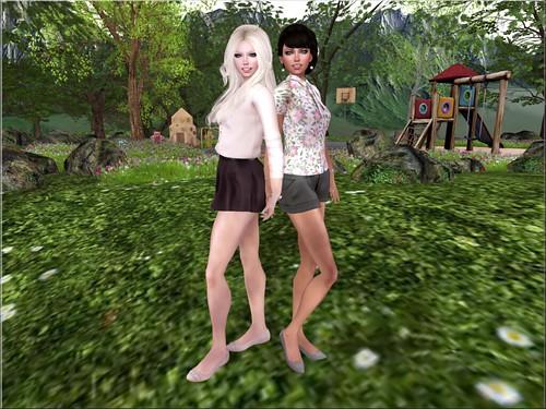 Sisters- Lolita and Alicia